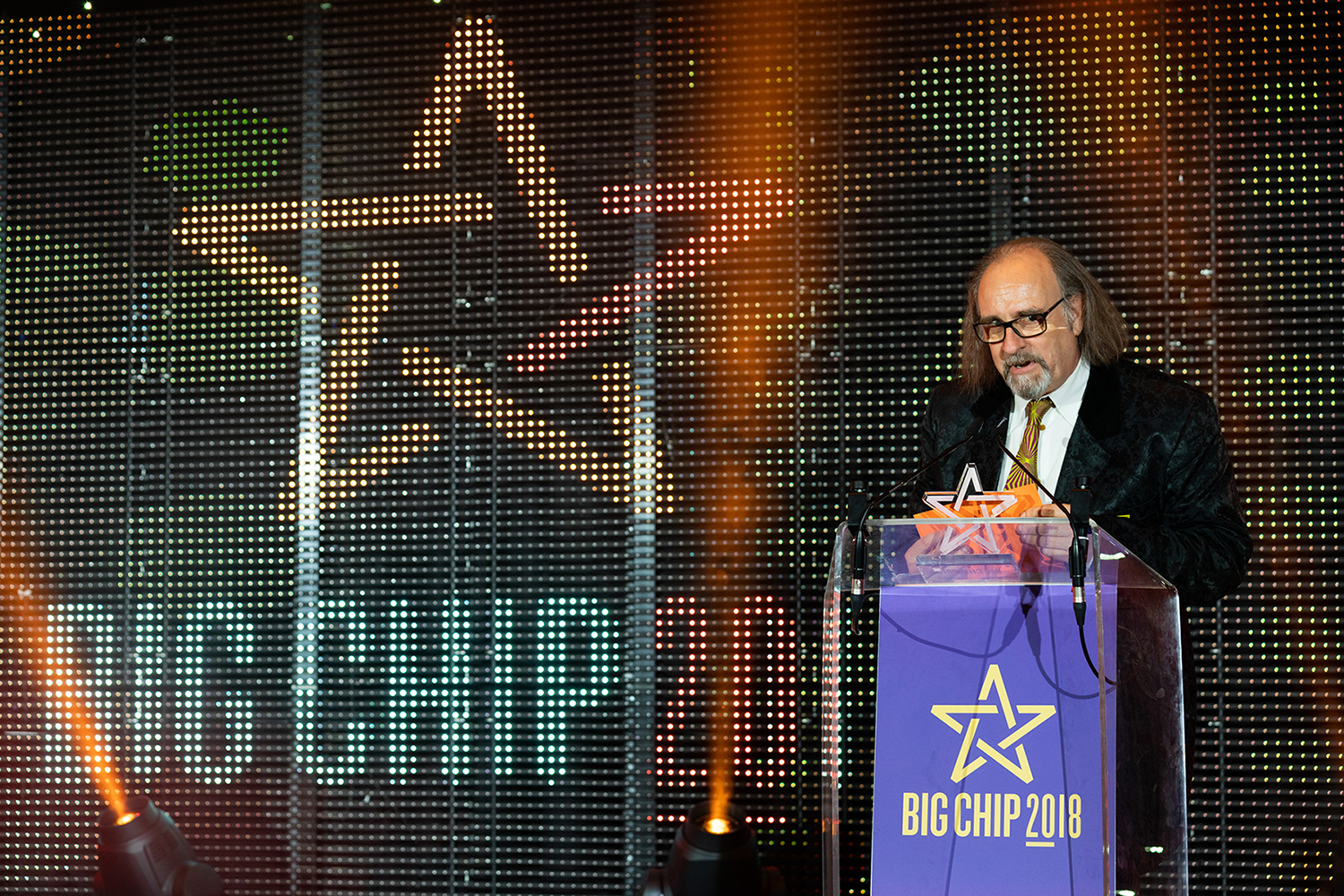 Malcolm Garrett at Big Chip 2018