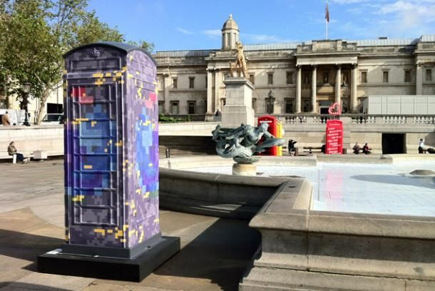BT ArtBox Trafalgar Square