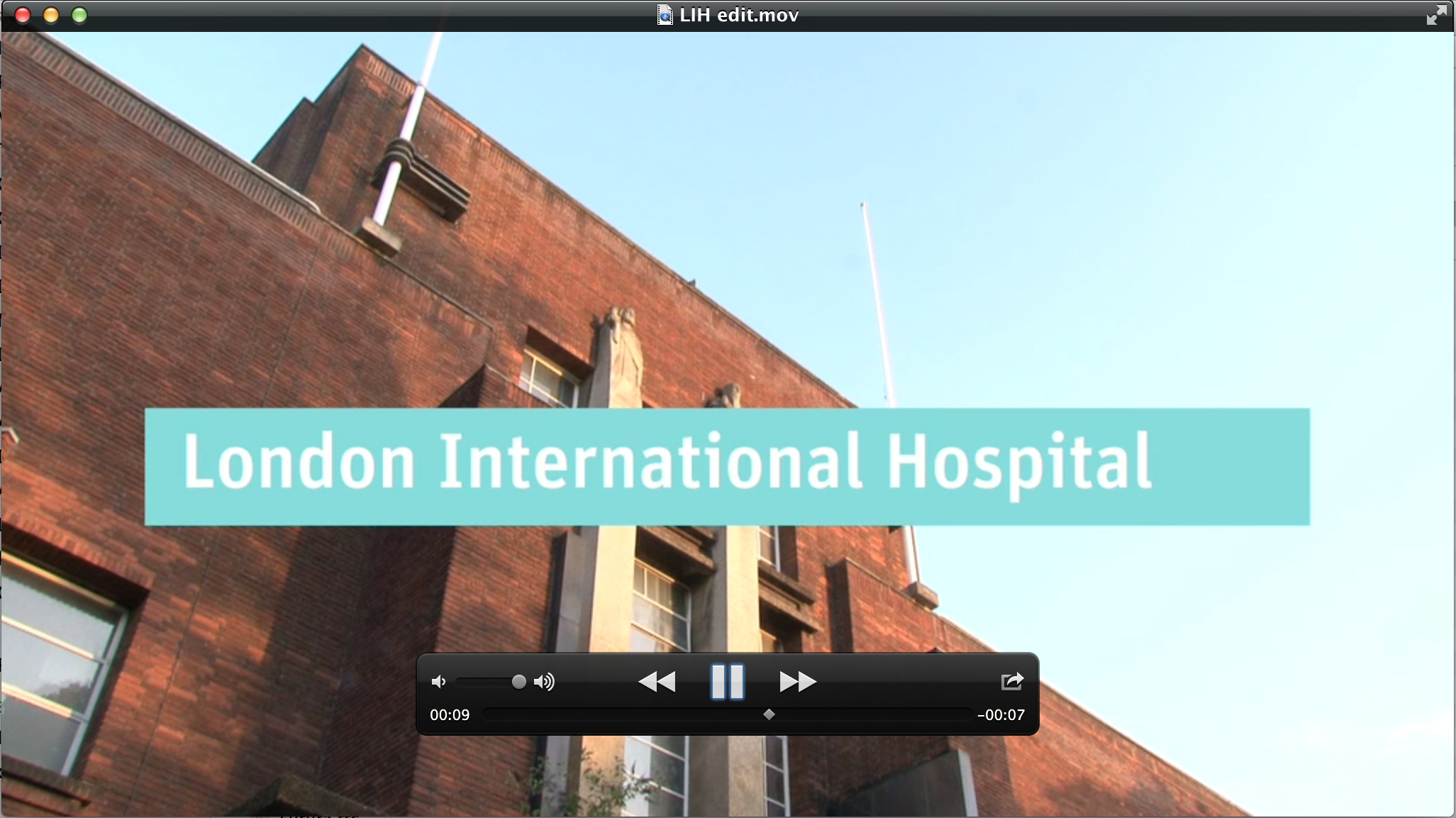 London International Hospital movie