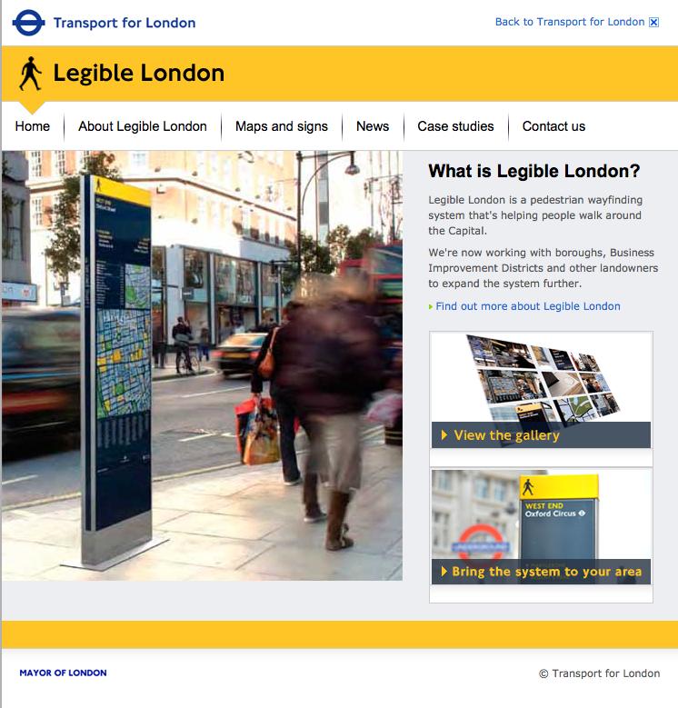 TfL Legible London